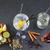 gin · cocktail · citroen · ijs · water · voedsel - stockfoto © lunamarina