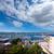 Парусники · воды · город · фон · лет · океана - Сток-фото © lunamarina