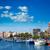 strand · hemel · gebouw · stad · zon · landschap - stockfoto © lunamarina