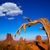 vale · ocidente · secas · Utah · céu - foto stock © lunamarina