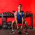 kettlebell workout training man at gym stock photo © lunamarina