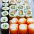sushi · maki · California · rotolare · wasabi · alimentare - foto d'archivio © lunamarina