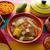 caldo de res mexican beef broth in table stock photo © lunamarina