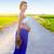красивой · живота · молодые · привлекательный · беременная · женщина · белый - Сток-фото © lunamarina