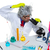 crazy mad nerd scientist at laboratory microscope stock photo © lunamarina