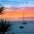 Mallorca port de Andratx sunset in Mallorca stock photo © lunamarina