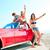 vacances · adolescents · groupe · plage · vacances · d'été - photo stock © lunamarina