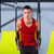 crossfit dip ring young man workout at gym dipping stock photo © lunamarina