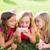 crianças · amigo · meninas · jogar · internet - foto stock © lunamarina