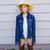 little kid girl pretending to be a cowboy stock photo © lunamarina
