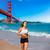 fut · San · Francisco · atléta · futó · edz · jogging - stock fotó © lunamarina