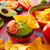 comida · mexicana · nachos · chile · salsa · restaurante - foto stock © lunamarina