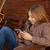 девочку · гитаре · музыку · ребенка · красоту · весело - Сток-фото © lunamarina