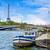 köprü · Paris · Fransa · gece · Bina · seyahat - stok fotoğraf © lunamarina