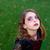 halloween · makyaj · küçük · kız · genç · kadın · serin · yüz - stok fotoğraf © lunamarina