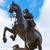 london trafalgar square king charles i stock photo © lunamarina