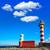 deniz · feneri · İspanya · gün · batımı · deniz · mavi · Avrupa - stok fotoğraf © lunamarina