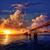 Florida · sleutels · oude · brug · zonsondergang · park - stockfoto © lunamarina