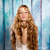 blond · fille · cheveux · belle · fraise - photo stock © lunamarina