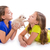 enfants · soeur · amis · Kid · filles · jouer - photo stock © lunamarina