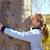 bambini · bambina · felice · giocare · foresta · albero - foto d'archivio © lunamarina