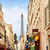 Eyfel · Kulesi · Paris · Fransa · Bina · şehir · gün · batımı - stok fotoğraf © lunamarina