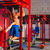 toes to bar man pull ups personal trainer stock photo © lunamarina