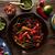 牛肉 · ファヒータ · パン · メキシコ料理 · 唐辛子 · 赤 - ストックフォト © lunamarina