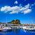 güney · İspanya · plaj · gökyüzü · şehir - stok fotoğraf © lunamarina