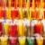 bril · ananas · sap · paar · voedsel - stockfoto © lunamarina