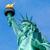 statue · liberté · Manhattan · New · York · City · freedom · tower · bleu - photo stock © lunamarina
