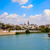 seville skyline and algonso xiii channel andalusia stock photo © lunamarina
