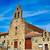 ortaçağ · kilise · köy · gökyüzü · su · deniz - stok fotoğraf © lunamarina