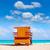 キャビン · ビーチ · マイアミ · フロリダ · 米国 · 海 - ストックフォト © lunamarina