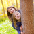 осень · сестра · Kid · девочек · играет · лес - Сток-фото © lunamarina