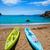 iki · yeşil · sarı · iskele · su - stok fotoğraf © lunamarina