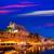 ciutadella menorca city town hall and port sunset stock photo © lunamarina