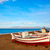 almeria cabo de gata san miguel beach boats stock photo © lunamarina