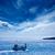 filho · praia · turquesa · cor · céu · água - foto stock © lunamarina