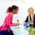 businesswomen interview meeting multi ethnic stock photo © lunamarina