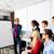 Executive businessman presentation office team stock photo © lunamarina