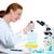 laboratuvar · bilim · adamı · kanal · çalışma · laboratuvar · tıbbi - stok fotoğraf © lunamarina