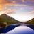 reservoir · kristal · meer · bos · heuvels · Californië - stockfoto © lunamarina