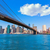 brooklyn bridge and manhattan skyline new york stock photo © lunamarina