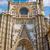 seville cathedral saint christopher door spain stock photo © lunamarina