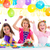 ninos · nino · fiesta · de · cumpleaños · baile · feliz · riendo - foto stock © lunamarina