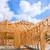 americano · residencial · casa · estructura · tuberías - foto stock © lunamarina