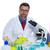 kimyasal · laboratuvar · bilim · adamı · adam · çalışma · portre - stok fotoğraf © lunamarina