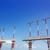 aterrissagem · luzes · torres · branco · vermelho · blue · sky - foto stock © lunamarina
