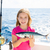 Kid · девушки · рыбалки · тунца · мало · счастливым - Сток-фото © lunamarina